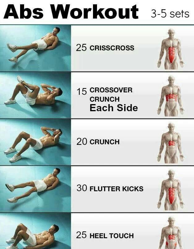 Ab workout i could do before bed each day