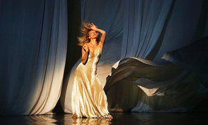 Julie Shanahan in Pina Bausch's Sweet Mambo at the Edinburgh international festival.