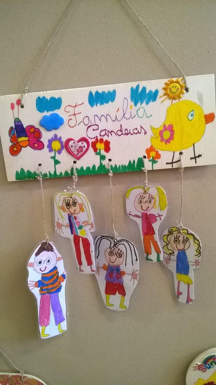 Presentes para a fam lia a fam lia meu tesouro for Mural de natal 4 ano