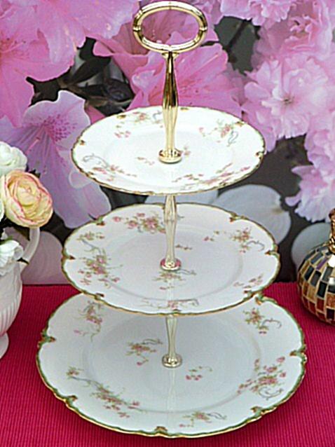 .cakestandland.co.uk Limoges cake stand & 1002 best Cake Plates images on Pinterest | Blue china Blue and ...