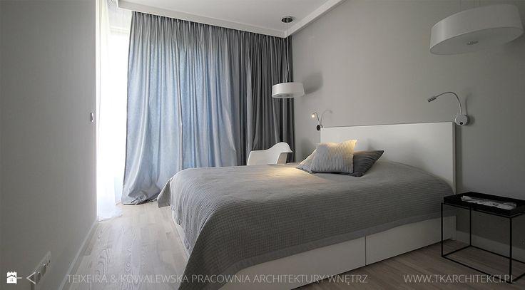Sypialnia styl Minimalistyczny - zdjęcie od TK Architekci - Sypialnia - Styl Minimalistyczny - TK Architekci