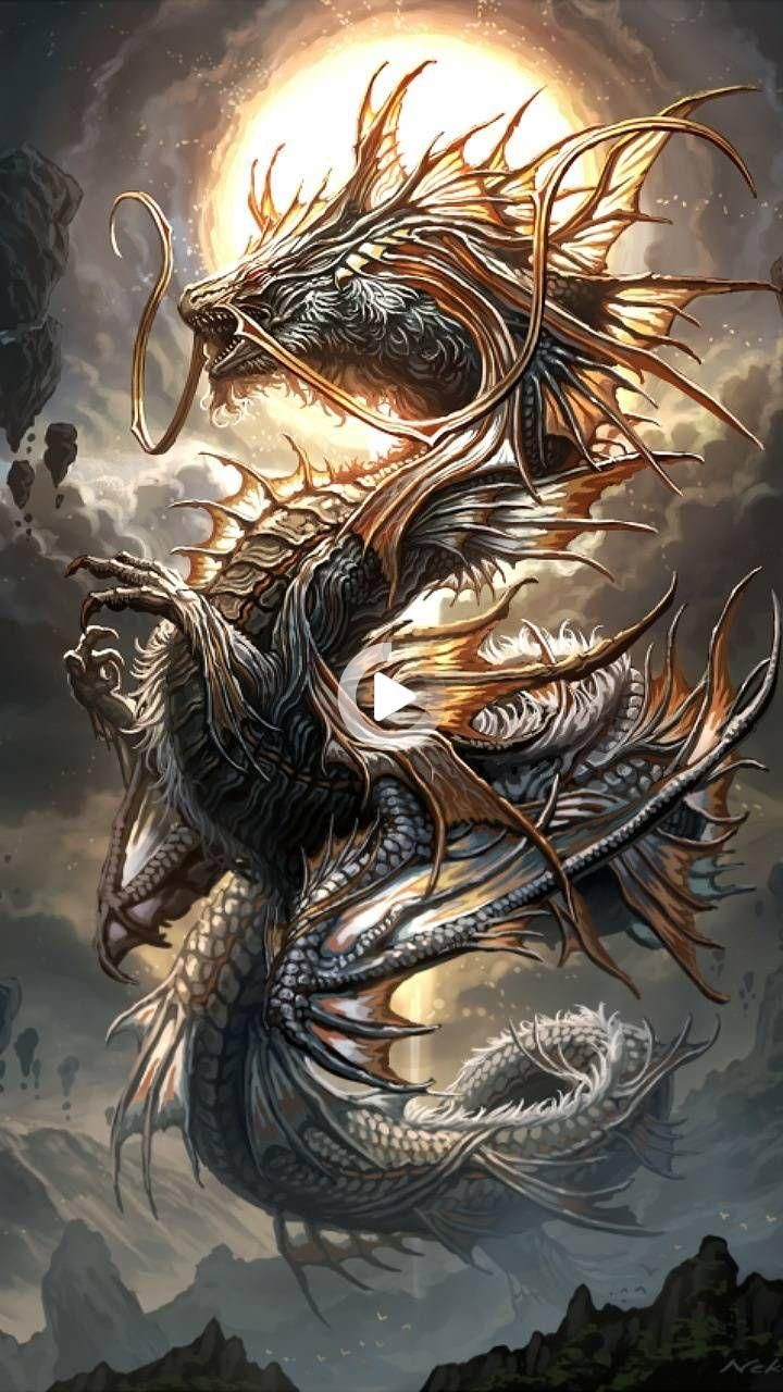 Redirecting In 2021 Dragon Illustration Dragon Drawing Mythical Creatures Art Live wallpaper dragon tattoo