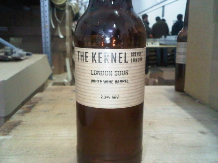 Cerveja The Kernel London Sour White Wine Barrel, estilo American Wild Ale, produzida por The Kernel Brewery, Inglaterra. 2.7% ABV de álcool.