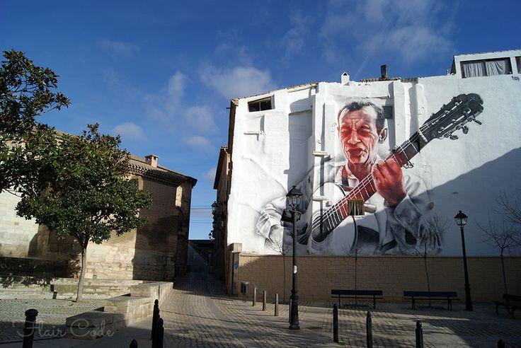 Street art; Tudela, Spain