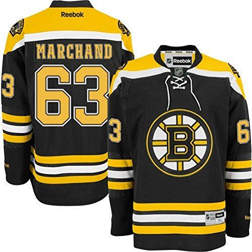 ... Reebok Mens Brad Marchand Boston Bruins Home Premier Adult Jersey  (X-Large) Reebok Boston Bruins Boston Bruins Black ... 923637311