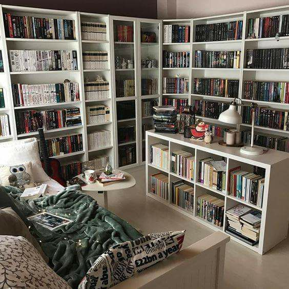 I may need to start putting bookshelves in the centre of the room too
