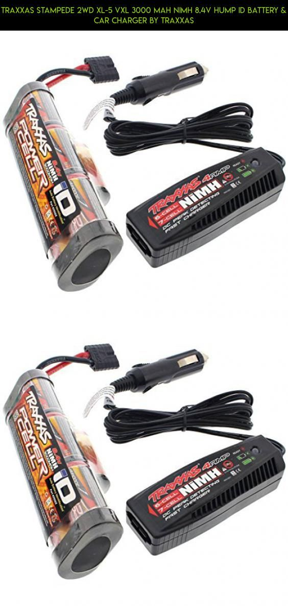 Traxxas Stampede 2wd XL-5 VXL 3000 mAh NiMH 8.4V HUMP iD BATTERY & CAR CHARGER by Traxxas #8.4 #drone #technology #plans #fpv #camera #traxxas #gadgets #shopping #tech #racing #parts #products #kit