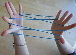 Hand string game.. I remember doing this back in the days