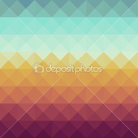 Vintage hipsters geometric pattern. — Stock Illustration #29974387