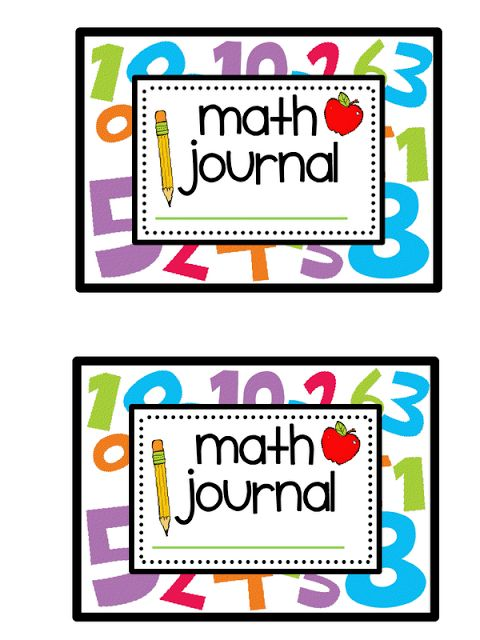 Teacher Bits and Bobs: math journal  This is a cover she made to use with Dee Dee Wills Journal Prompts.