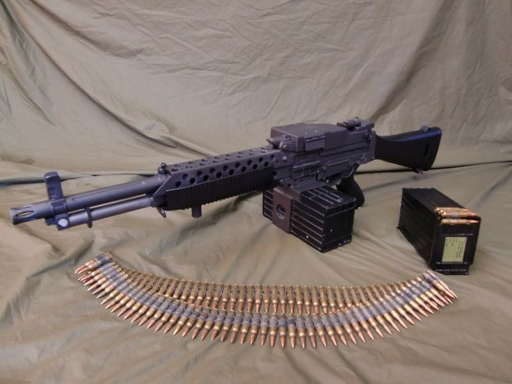 "coffeeandspentbrass: "" bolt-carrier-assembly: "" Stoner 63 #beltfed "" Goals. """