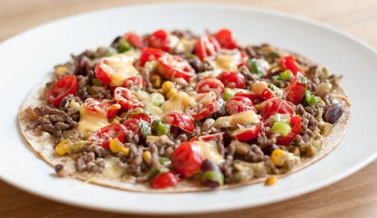 Mexicaanse panpizza - Keuken♥Liefde