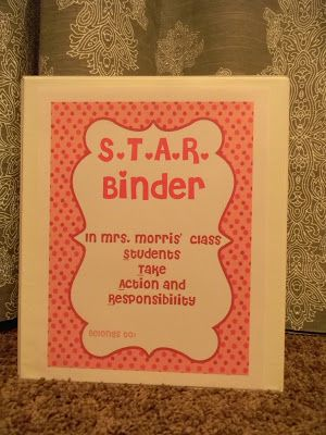 Simply 2nd Resources: Sharing Thursday #4 ~ STAR binder part 1