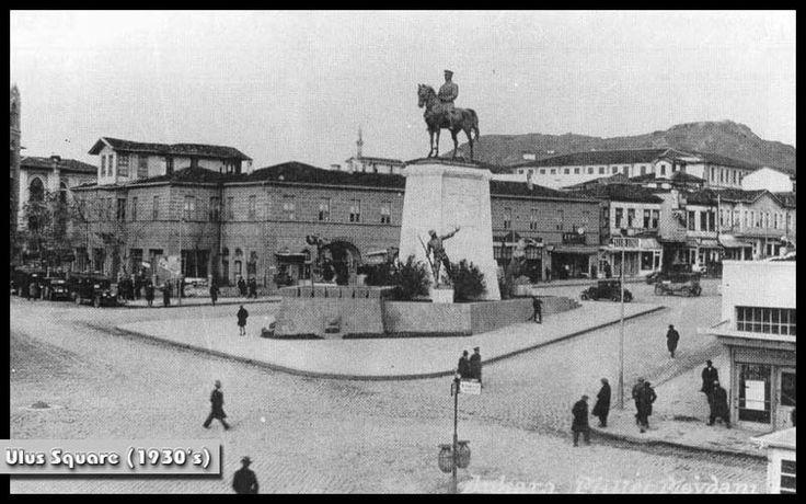 Ankara - Ulus Meydanı arkada Taşhan   30lar.