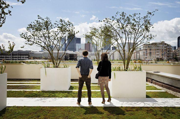 Les 16 meilleures images propos de architecture paris batignolles sur pinte - Toiture vegetalisee paris ...