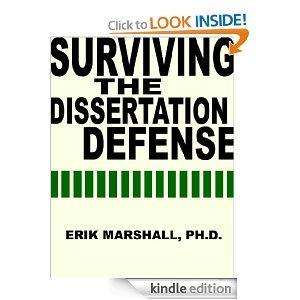 the dissertation defense