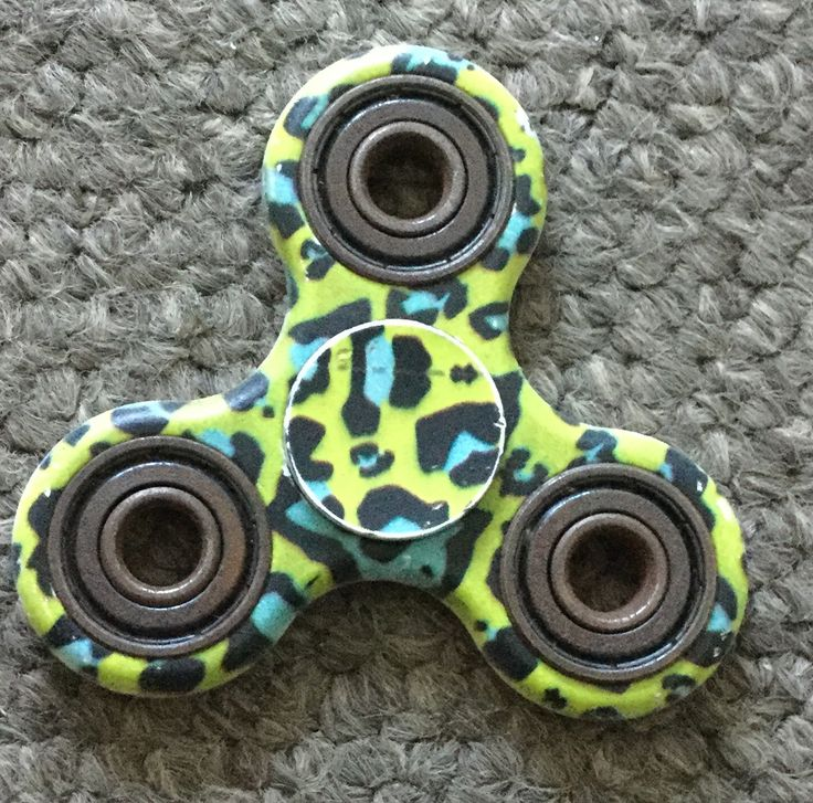 Cool patterned fidget spinner