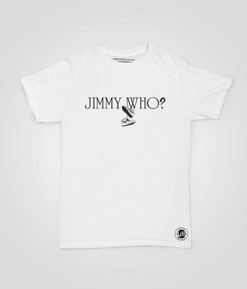 Lifestyle Merchants-Jimmy Who? tee shirt Still my favourite! and still available instore and online.
