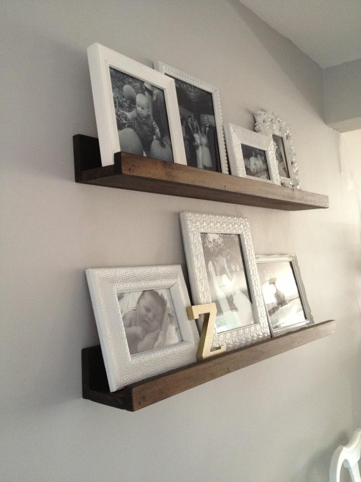 Retro Ranch Reno - DIY Wood Shelves/Picture Ledges
