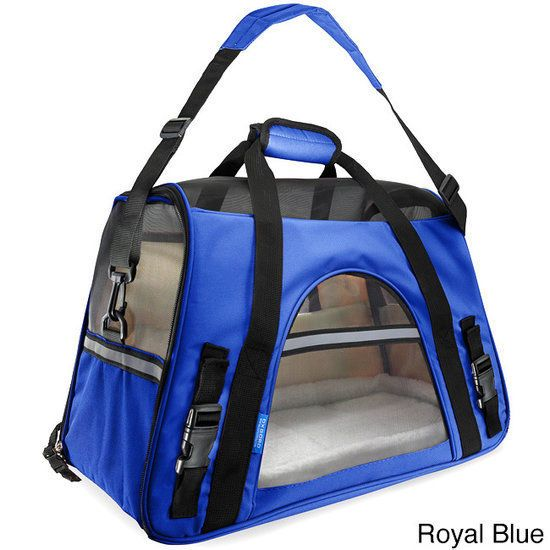 Small Pet Carrier Soft Sided Cat Dog Comfort Travel Bag Airline Approved Tote  #Oxgord