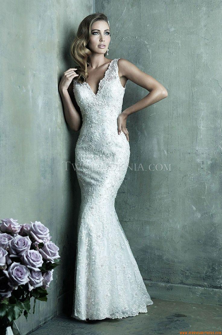 51 best Trouwjurken Allure images on Pinterest | Short wedding gowns ...