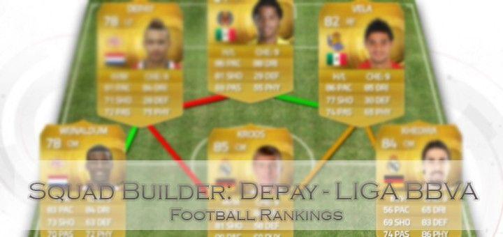 Memphis Depay-Liga BBVA hybrid | FIFA 15 Ultimate Team