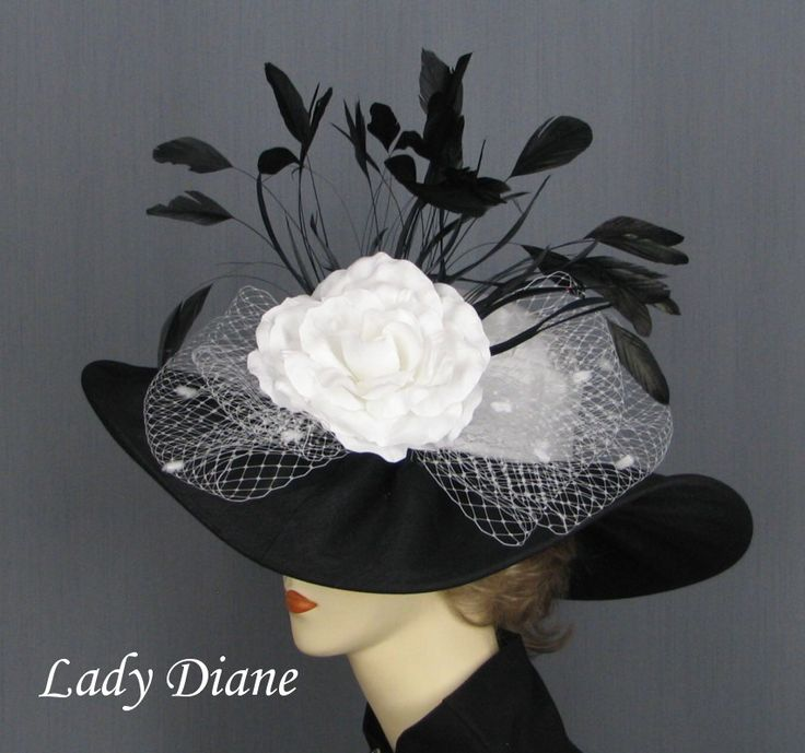 Women's Hats,Ladies Hats, Feather Hats, Millinery, Custom Hats