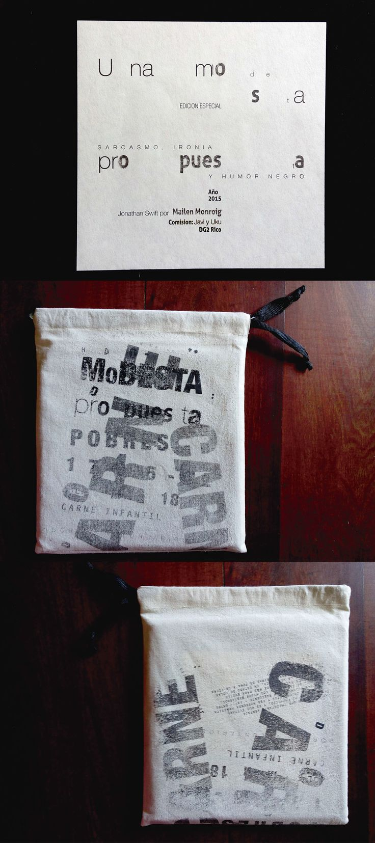 "Editorial ""Una modesta propuesta"" on Behance"