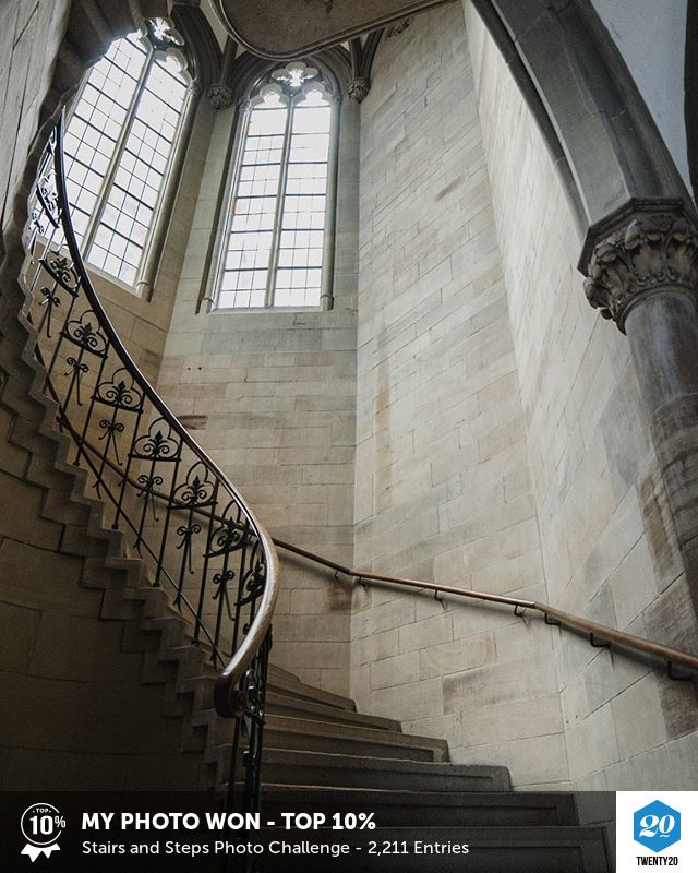 My photo was voted Top 10% in the Stairs and Steps challenge on Twenty20. See the entries.