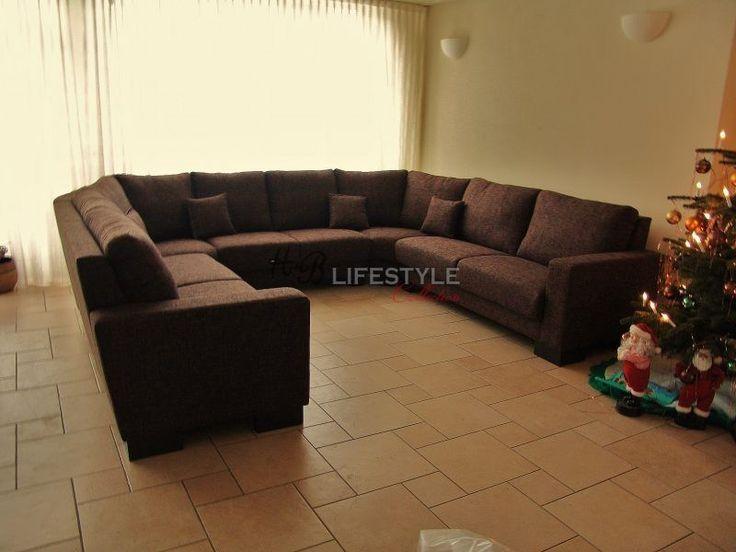 Super grote hoekbanken - HB Lifestyle Collection
