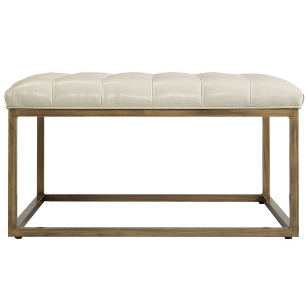 Retro Glitz Healy Ottoman - Overstock™ Shopping - Great Deals on Ottomans