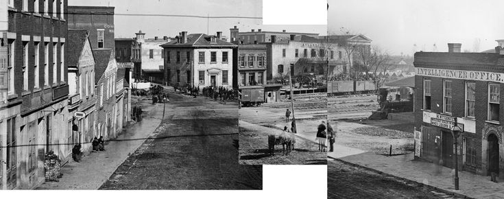 Atlanta's First Buildings In Pictures: 1830-1900 ... First Photograph 1830