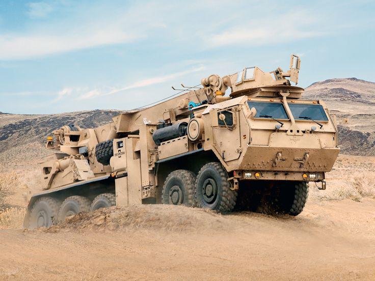 Oshkosh Military Trucks | Oshkosh LVSR MMRS Heavy Recovery Vehicle '2009–н.в.