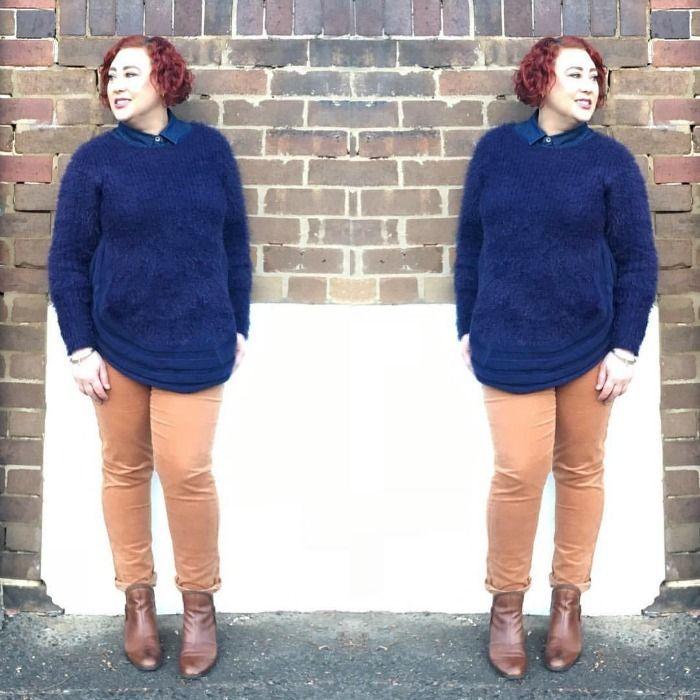 Three Parsons fluffy knit | one piece two ways http://www.kimbalikes.com/three-parsons-fluffy-knit/