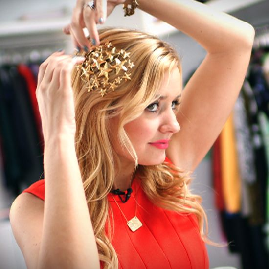 The Most Stylish Accessory For Party Season — And You Can Make It: DIY Rodarte Stars Hair Pin