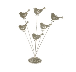 Flock of Birds Placecard Holder - Rustic- 1 pc  For sale contact stylxchangeb@gmail.com    Website coming soon!