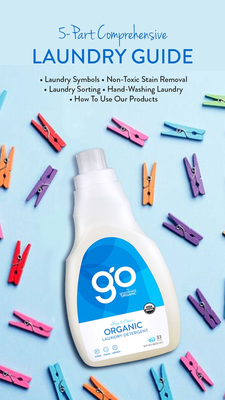 Go by greenshield organic comprehensive laundry guide