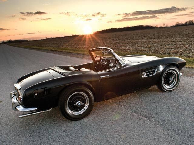 1959 BMW 507 Roadster #RatGroup #Marketing