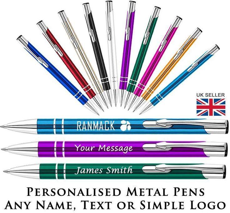 Promotional Pens - Personalised Engraved Eleem Metal Ballpoint Pen