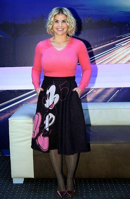 Beatrice Egli 155 in 2020   Fashion, Pantyhose outfits