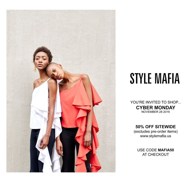 "11.28 style mafia ""Today Only - 50% Sitewide "" subject line"