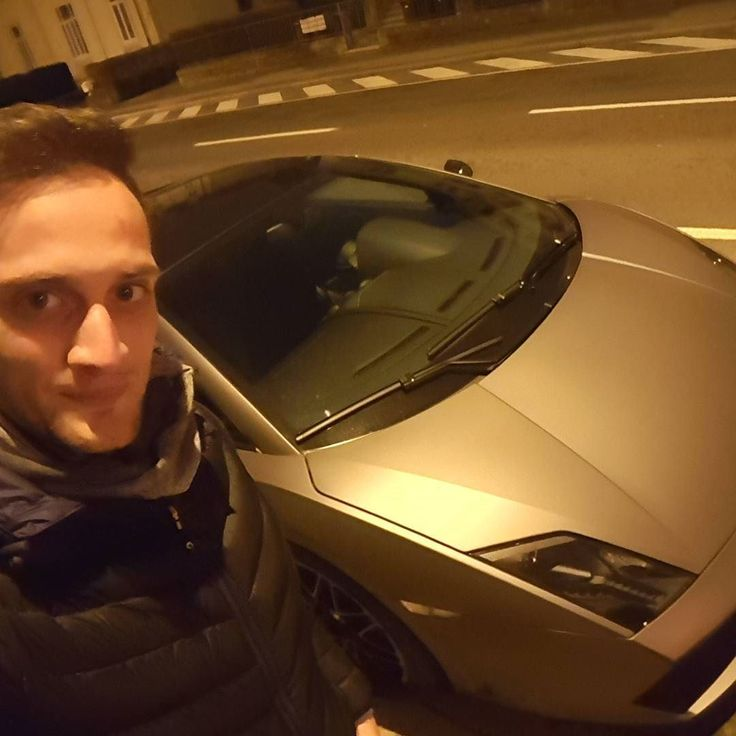 #me in #Luxembourg near #lamborghini very #happy