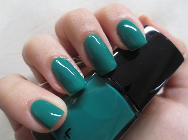 ELES Cosmetics - Masquerade Nail Polish Collection Tintoretto Teal