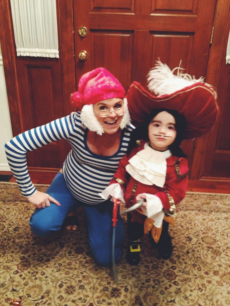 Captain Hook and Mr Smee costume | Tickle Trunck ...