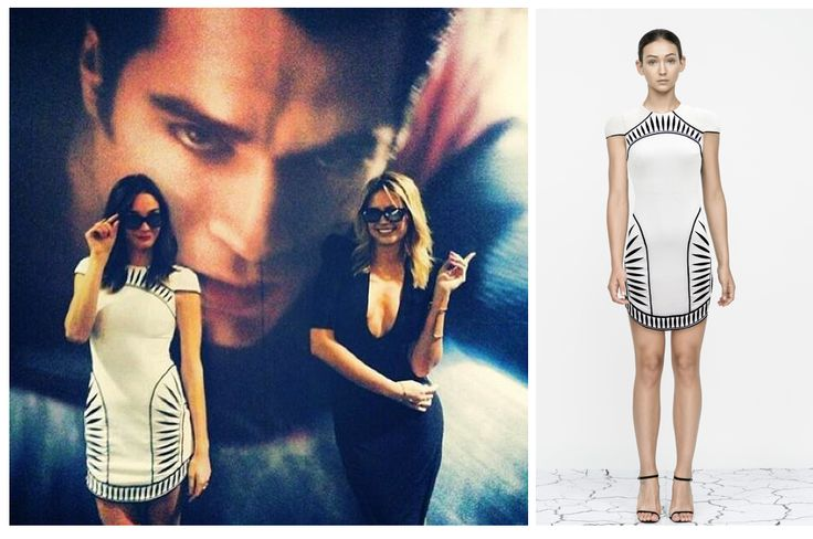 New Zealand TV presenter Shannon Ryan rocked the Contrast Dress at the Man of Steele premiere!