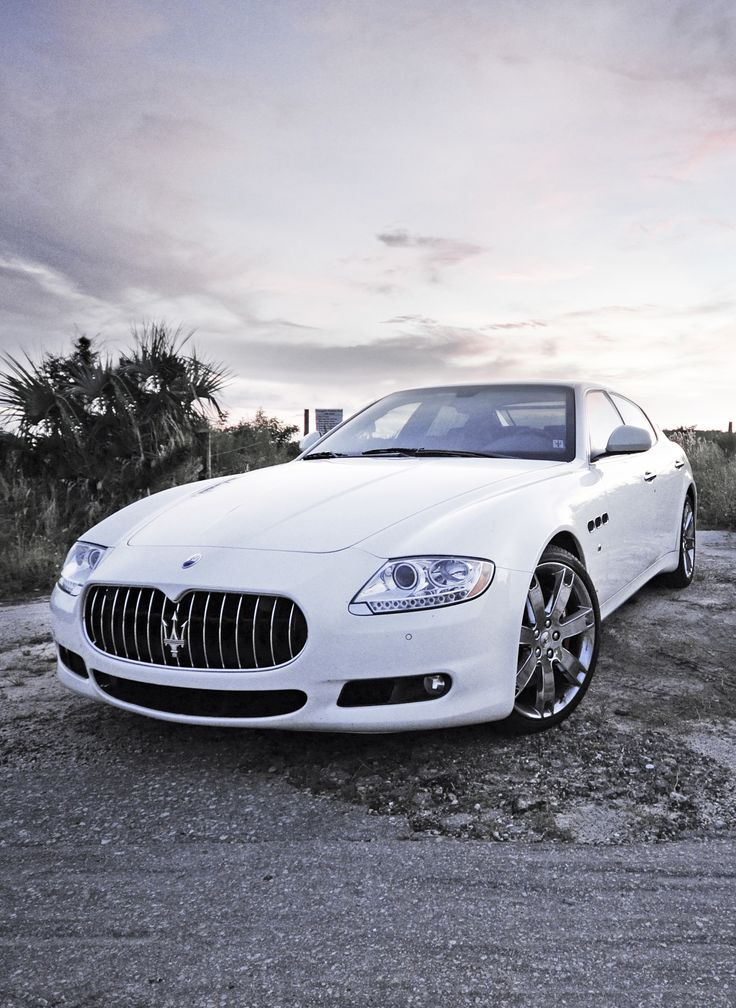 Maserati Quattroporte - Feels large, lots of room, really have to jam the gas to make it go. Feels like a monster.