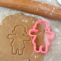 """Cookie cutter """"Gingerbread woman"""""""