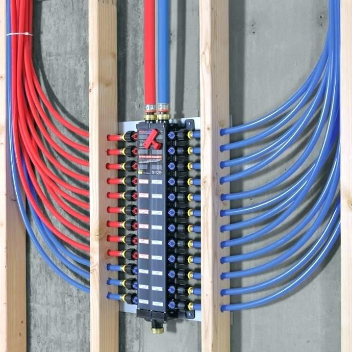 Manifold System How To Install A Plumbing Diy Pex