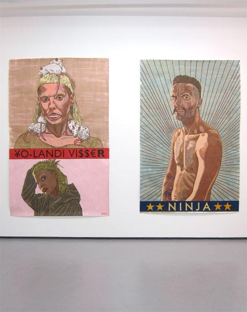 Anton Kannemeyer: Yo-Landi Visser and Ninja at Jack Shainman Gallery