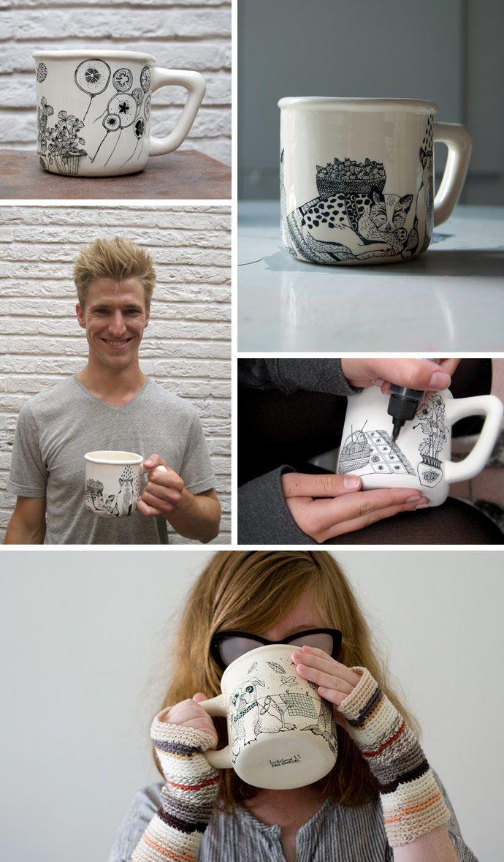 Personalize a mug